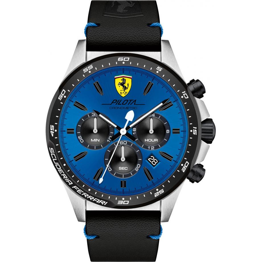 Pilota 0830388 Scuderia Ferrari Uhr Freies Verschiffen Schattenstation